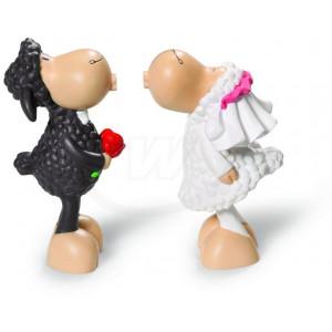 Coppia Sposi Jolly Mäh il bacio degli sposi Nici Waldmuller 33788