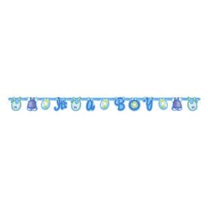 Festone Banner Nascita Bimbo, It's A Boy *05202 | Pelusciamo.com