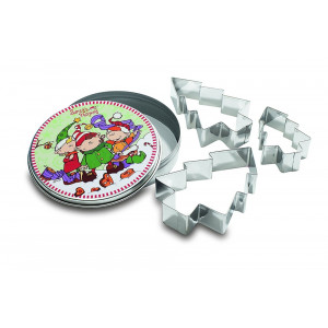 Nici Folletti Scatolina Metallo con Formine | pelusciamo store