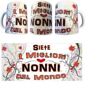 Tazza Siete I Migliori Nonni Del Mondo Festa Dei Nonni Tazze In Ceramica PS 09370-9