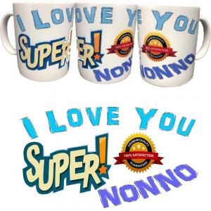 Tazza I Love You Super Nonno Festa Dei Nonni Tazze In Ceramica PS 09370-7