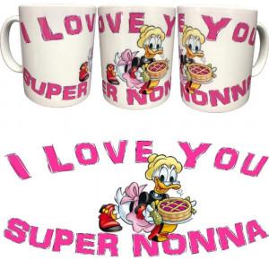 Tazza I Love You Super Nonna Festa Dei Nonni Tazze In Ceramica PS 09370-6