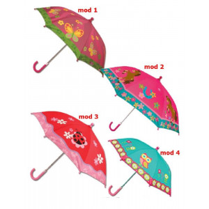 Ombrelino Pioggia Animali per Bambina , Ombrello | Pelusciamo.com