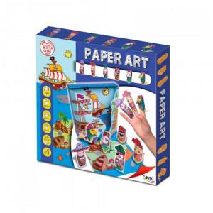 Scatola gioco Origami di carta pirati Art Paper Cayro  *08258 Pelusciamo.com