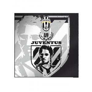 Panno asciugatutto 36x36 cm. ufficiale Juventus *21468 pelusciamo store