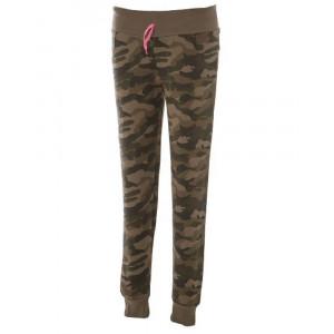 Pantalone Tuta Donna Camouflage 100% Cotone Garzato Prelavato PS 28455 pelusciamo store Marchirolo