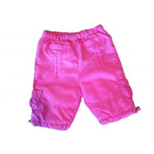 Pantalone invenale bambina microfibra rosa