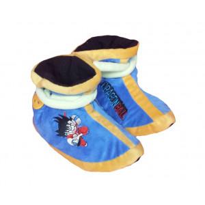Moppine Dragonball Z - morbide pantofole in peluche blu -Taglia | Pelusciamo.com