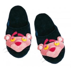 Ciabatte cartone animato Pantera Rosa - pantofole blu -Taglia | Pelusciamo.com