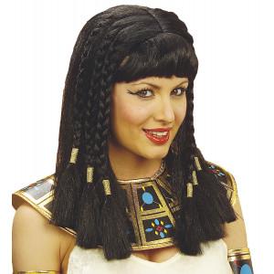 Parrucca da Cleopatra, Accessorio Costume Carnevale   Pelsuciamo.com