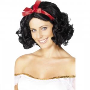 Parrucca Carnevale Donna Western Saloon