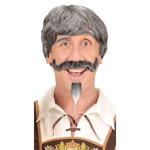 Parrucca Uomo Bavarese Con Baffi E Pizzetto PS 08605 Pelusciamo Store Marchirolo