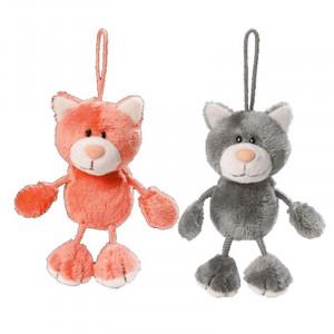 Peluche orsetto Milo e Mila Love cats Nici 7 cm. *02968