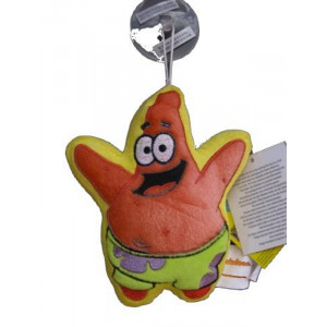 Peluche con ventosa Spongebob - Patrick 16 cm   Pelusciamo.com