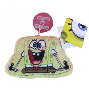 Peluche serie Spongebob - Spongebob con Ventose 17 cm   Pelusciamo.com
