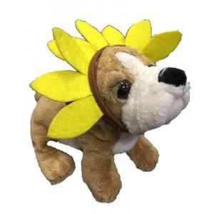 Peluche cane zelda wisdom girasole bee happy 20 cm *03250 pelusciamo store