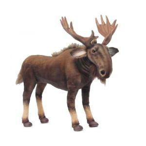 Peluche Alce Moose 47x55x28 Cm Peluches Hansa PS 07552 pelusciamo store