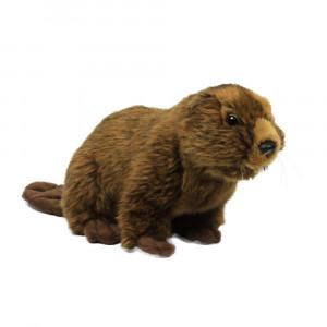 Peluche Castoro Sitting Beaver 23 Cm Peluches WWF PS 09766 Pelusciamo Store Marchirolo