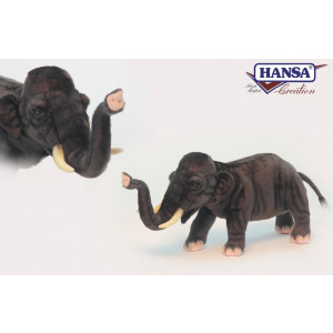 Peluche Elefante Asiatico 25x50x18 Cm Peluches Hansa PS 07603 pelusciamo store