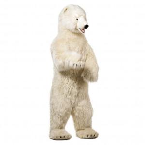 Peluche Gigante Orso Polare 150 Cm Peluches Giganti Hansa PS 09841 Pelusciamo Store Marchirolo