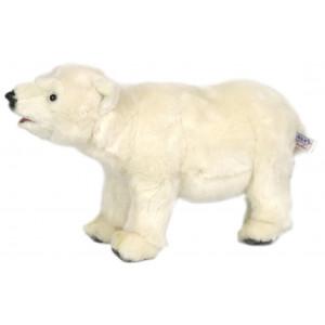 Peluche Orso Polare Bianco 23x38x17 Cm Peluches Hansa PS 07666 pelusciamo store
