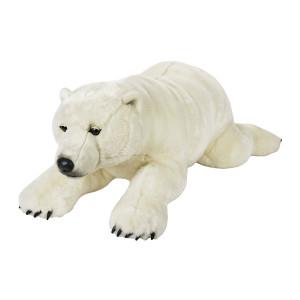 Peluche Orso Polare Gigante 118 Cm National Geographic Venturelli PS 04139 Pelusciamo Store Marchirolo