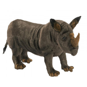 Peluche Rinoceronte 20x46x14 Cm Peluches Hansa PS 07601 pelusciamo store
