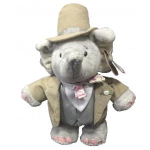 Peluche elefante Elliot lo sposo 30 cm peluches matrimonio *03996