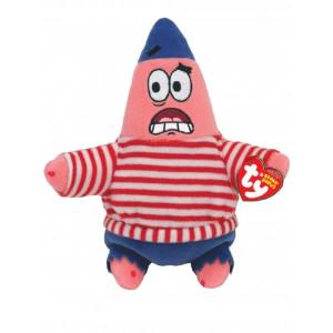 Peluche Serie Spongebob - Patrick Pirata 18 cm   Pelusciamo.com