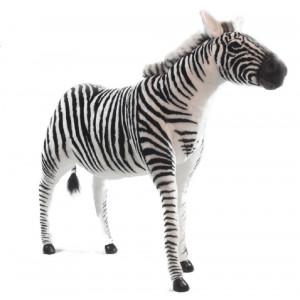 Peluche Gigante Zebra Realistica 140x100 cm Peluches Hansa PS 07513