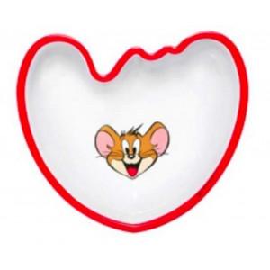 Piatto sagomato Tom & Jerry in melamina *03515 pelusciamo