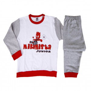 Abbigliamento prima infanzia pigiama bimbo Diavoletto originale AC Milan *12708 pelusciamo store