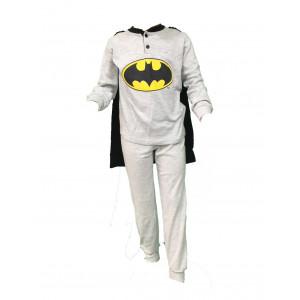 Pigiama bambino Batman con mantello ufficiale Dc Comics *23035 pelusciamo store