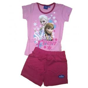 Pigiama bambina manica corta cotone Disney Frozen *08105  pelusciamo store