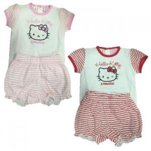 Pigiama Neonata Hello Kitty, Pigiamino 2 Pezzi Bimba | pelusciamo.com