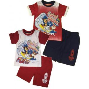 Completo bambino pantaloncini e maglia manica corta Paw Patrol *23631