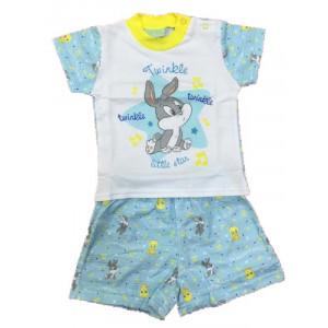 Pigiama bimbo Bunny star abbigliamento prima infanzia Looney Tunes *13583