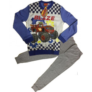 Pigiama bambino Blaze mega macchine cotone interlock *03717 pelusciamo store