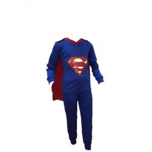 Pigiama bambino Superman con mantello ufficiale Dc Comics *23040