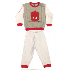 Pigiama bimbo Diavoletto Abbigliamento bambino originale AC Milan *04734 pelusciamo store