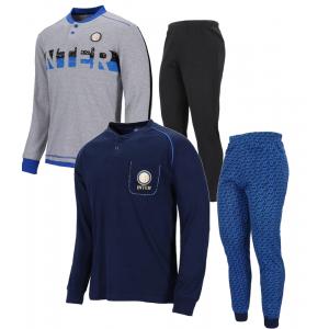 Pigiama Ragazzo Inter  Abbigliamento Ufficiale Fc internazionale  | Pelusciamo.com