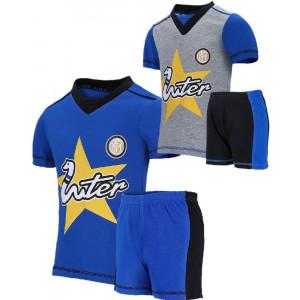 Pigiama Estivo Inter Abbigliamento Bambino FC Internazionale Calcio PS 27164 Pelusciamo Store Marchirolo