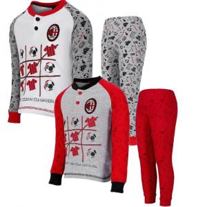 Pigiama Milan Bimbo Abbigliamento Calcio ACM Milan PS 26910 Pelusciamo Store Marchirolo