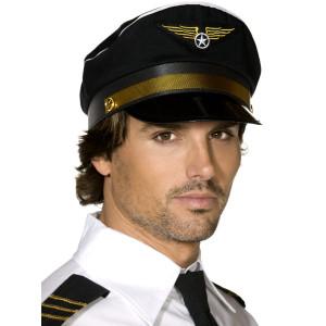 Accessori Costume Carnevale Cappello Pilota aereo smiffys 31179 *10254