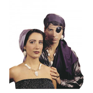 Set Accessori per Costume Carnevale Pirata e Piratessa Adulto