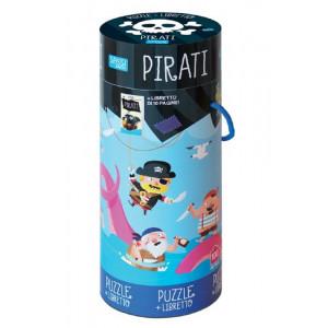 Puzzle Con Libretto Pirati 100 Pz PS 07088 Giochi Educativi PELUSCIAMO STORE