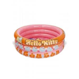 Piscina Gonfiabile Fuori terra 3 anelli Hello Kitty per bambina *11363