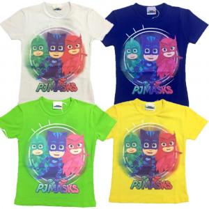 Maglietta Pjmasks SuperPigiamini T-shirt Bimbo Pj Masks PS 06625 - pelusciamo store