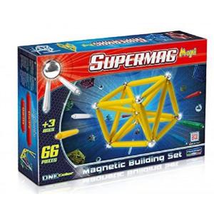 Supermag maxi ,Gioco Costruzioni Magnetiche 66 pz  *00133 made in italy | Pelusciamo.com