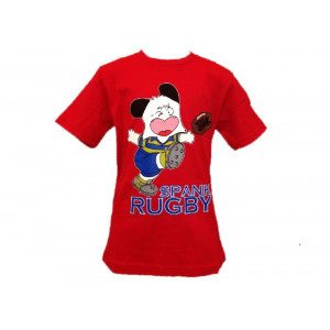 T-Shirt Maglietta Ragazzo/a Hello Spank rugby